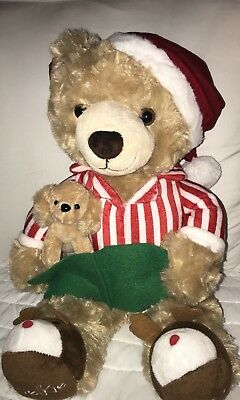 Belkie Bear 2017 Christmas Teddy Bear Plush Belk Department Store New with Tags