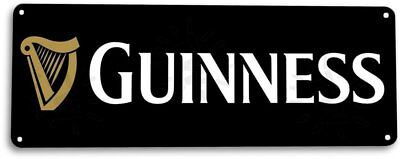 Guinness Vintage Rustic Retro Tin Metal Sign