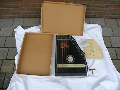 Gitarr - Zither, Made in Germany