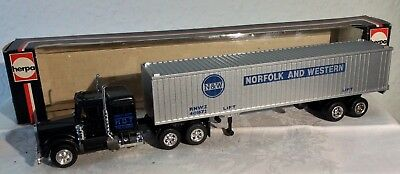 Alter Herpa Kenworth #950224, Containerzug, M/B, 80iger, 1:87(HO)