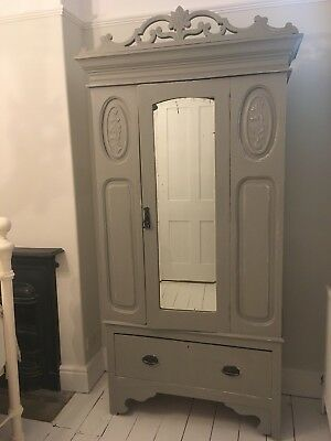 French Style Armoire Vintage Wardrobe