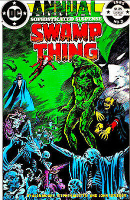 Swamp Thing Vol. 2 (1985-1996) Ann. #2