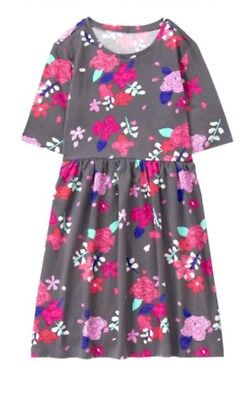 NWT GYMBOREE Girls MIX N MATCH Flowers Floral Roses Knit Dress Size S 5 6