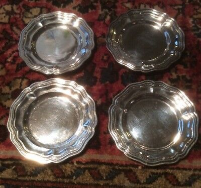 VTG.SANBORNS-Mexico- (4) Sterling Silver Trinket/Candy Dishes 282.4 Grams