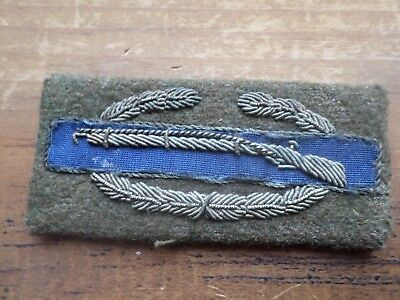 wwii  combat infantry badge 3in cib ww2 theater made bullion patch