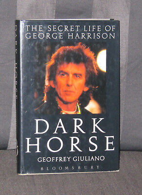 Beatles George Harrison Sammlung Secret Life DARK HORSE G. Giuliano Lesezeichen