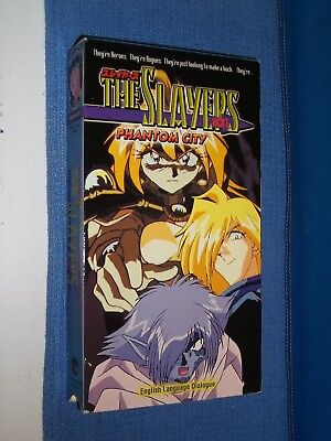 The Slayers Next & The Slayers Try group of 7 VHS videos dubbed anime