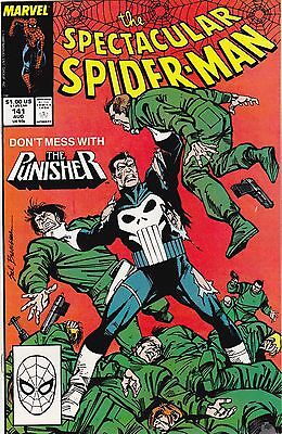 Spectacular Spider-Man #141 / Tombstone / Punisher / 1988 / Marvel Comics