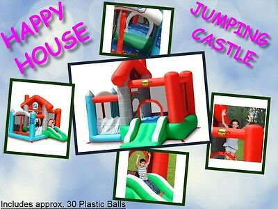 Happy House Jumping Castle (9315)