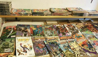 Mixed LOT OF 75 ALL Marvel DC + 75 Comic Book Lot all comics 1980 to 2017 High G