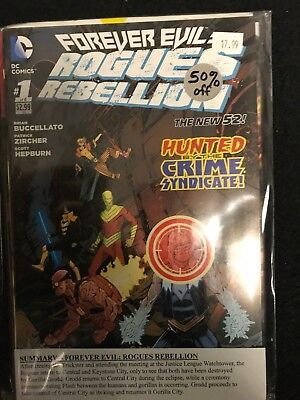 Forever Evil : Rogues Rebellion   #1-6  - DC - Complete Run Lot - 1st Print