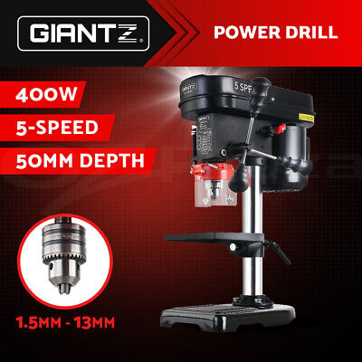 Giantz NEW 400W Bench Drill Press Workshop 5 Speed Wood Metal Drilling Stand