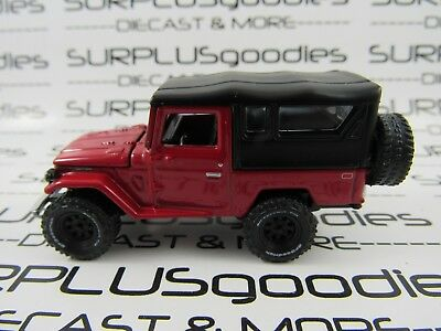 Johnny Lightning 1/64 LOOSE Collectible Red 1980 TOYOTA LAND CRUISER w/SoftTop