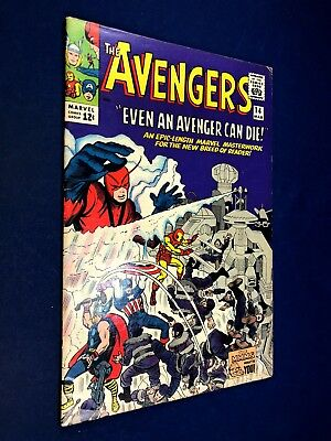 Avengers #14 (1965 Marvel) Silver Age NO RESERVE