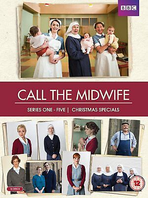 CALL THE MIDWIFE Series 1-5 Complete DVD Box-Set NEW 2016
