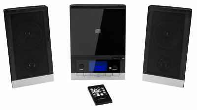 MEDION LIFE E64704 MD 43198 Mikro Audio System Anlage 2 Boxen UKW Radio CD AUX