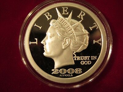2008 one ounce $50 Norfed round hallmarked Moose - rare
