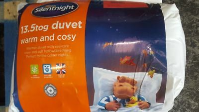 Superking Silentnight 10.5 Tog Winter Warm Nqp Warm And Cosy Polycot Cover