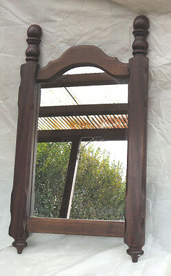 Vintage 1940s / 50s - Ancien miroir / oude spiegel / Old large wall mirror