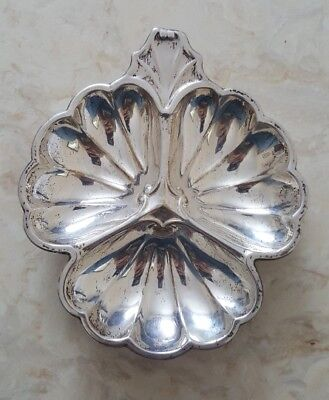 Sterling Silver Candy or Nut Dish. Marked STERLING #127 w Lion Rampant hallmark