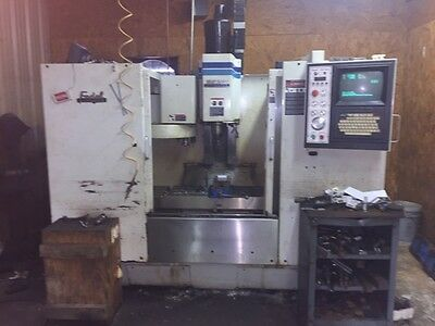 "USED FADAL VMC-3016HT CNC VERTICAL MILL 1996 88HS 30.16.20"" 10000 RPM 21 Tools"