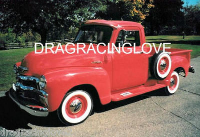 1954 Chevy 3100 Pick Up Classic American Car 8x10 GLOSSY PHOTO!
