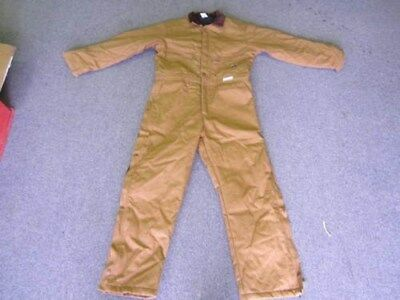 Thermal Tuff 10157 Outdoor Medium Size Brown Cotten Outter Shell Overalls NEW