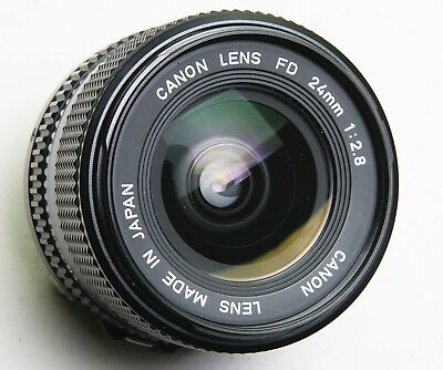 FAB CANON FD 24mm f2.8 EXTRA WIDE-ANGLE LENS - VERY GOOD CONDITION