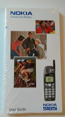 NOKIA 5185i Cell Phone User Guide Manual New Sealed