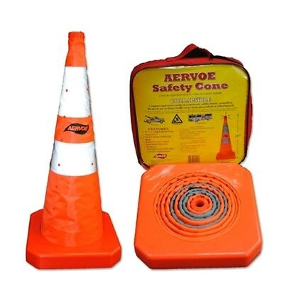 """Aervoe 1191 28"""" Safety Cone - Collapsible"""