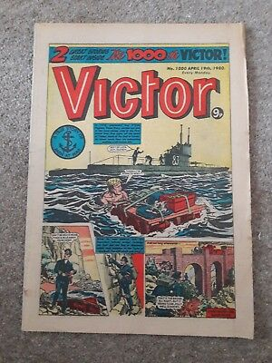 **victor Comic Issue 1000, Collectable, Good Condition!!**