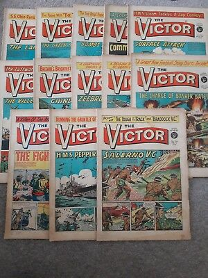 **victor Comic Numbers 154-166, Good Condition!**