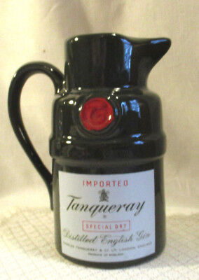 "Imported Tanqueray Special Dry Distilled English Gin  7"" Pitcher/jug"