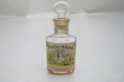 Antique Phul Nana Perfume Scent Bottle