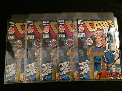 CABLE #1 Dynamic Forces Signed with COA VFNM Condition(Five Copies)