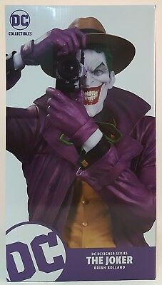 DC Collectables DC Designer Series The Joker Statue ~Brian Bolland~ Unopened