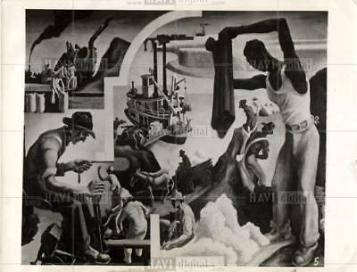 """1930 Orig Photo Mural Entitled """"The South"""""""