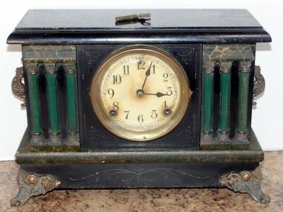 Vintage Sessions 8 Day Mantle Clock