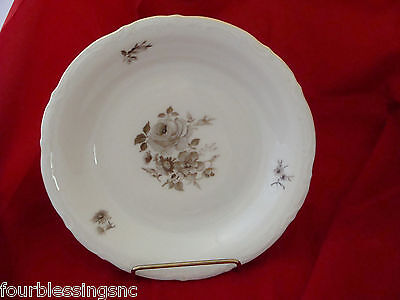 "Mitterteich Bavaria Germany China-Floral-8"" Salad/soup Plate/bowl-Roses"