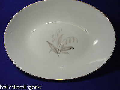1961 Kaysons Golden Rhapsody Fine China-Oval Serving Bowl-Made In Japan-Gold Rim