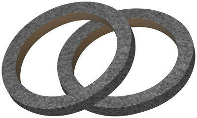 "Nippon 6"" Mdf Ring With Black Carpet Sold In Pairs"