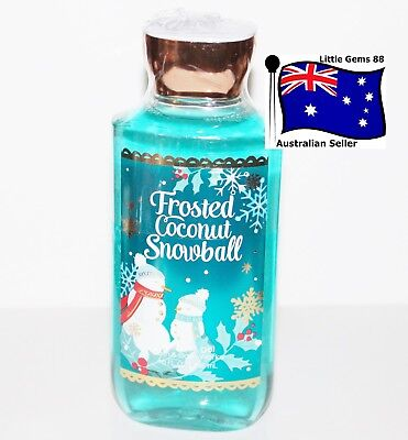 BATH & BODY WORKS ** Frosted Coconut Snowball ** SCENTED SHOWER GEL 295ML
