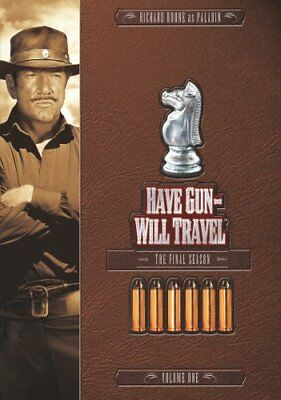 HAVE GUN WILL TRAVEL FINAL SEASON 6 VOL 1 New Sealed 2 DVD Set