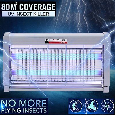 Insect Killer Mosquito Pest Fly Bug Zapper Catcher Trap Electric UV-A GK