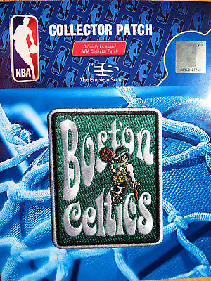"""Official Licensed NBA Boston Celtics """"Groovy"""" Fan Iron or Sew On Patch"""