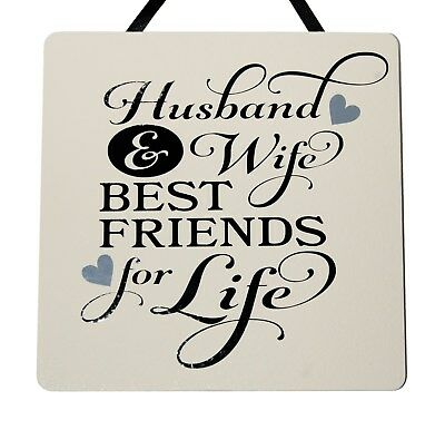Best Friends For Life Husband Wife Vinyl Wall Decal Married Bedroom