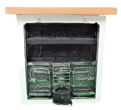 Melody Jane Dolls House Kitchen Range Cooker Miniature Victorian Furniture 1:12