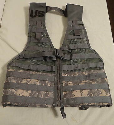 Molle II ACU Fighting Load Carrier Tactical Vest FLC Military Issue, New In Bag