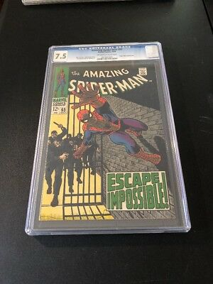 Amazing Spider-Man #65 CGC 7.5~Off White To White Pages~Foggy Nelson Appearance