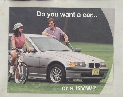 1996 BMW US 318 318ti & Olympic Games Mountain Bicycle Brochure wy9909